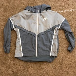 Nike Jacket w/ Attached Hood - Women's L